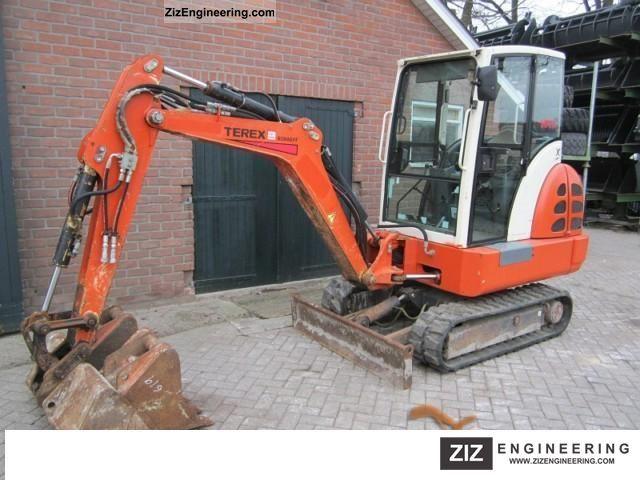 2003 Terex  HR 14 Construction machine Mini/Kompact-digger photo
