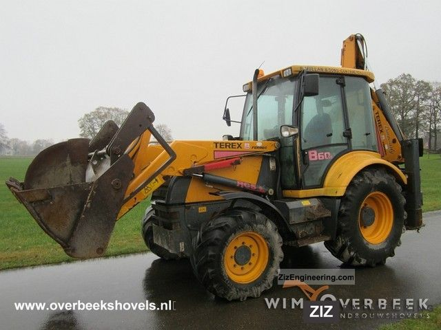 2003 Terex  SE 860 (4WD) Construction machine Combined Dredger Loader photo