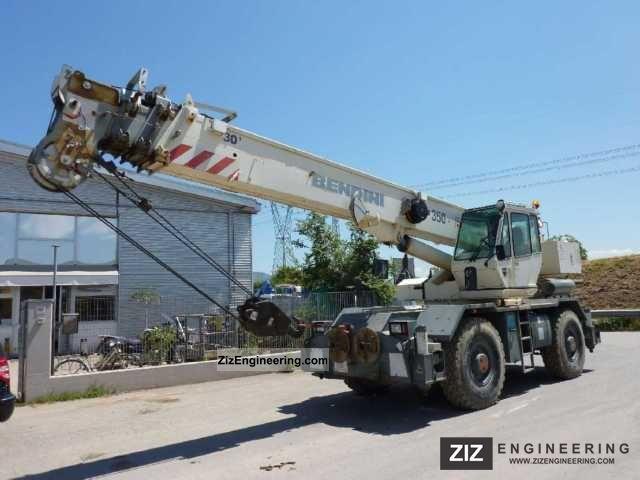 2003 Terex  BENDINI A 350 Construction machine Construction crane photo