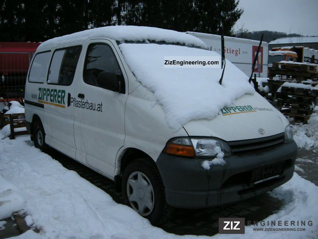 1996 Toyota  Hi-Ace bus Type D H1 Van or truck up to 7.5t Box-type delivery van photo