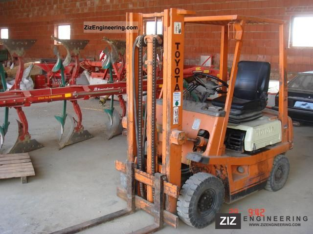 2011 Toyota  02-4FGL14 Forklift truck Front-mounted forklift truck photo