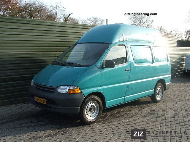 1998 Toyota  HIACE 2.4D Van or truck up to 7.5t Box-type delivery van - high photo