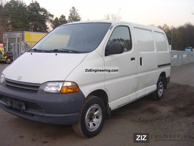 2001 Toyota  HIACE-Week's Hot Deals Van or truck up to 7.5t Box-type delivery van photo