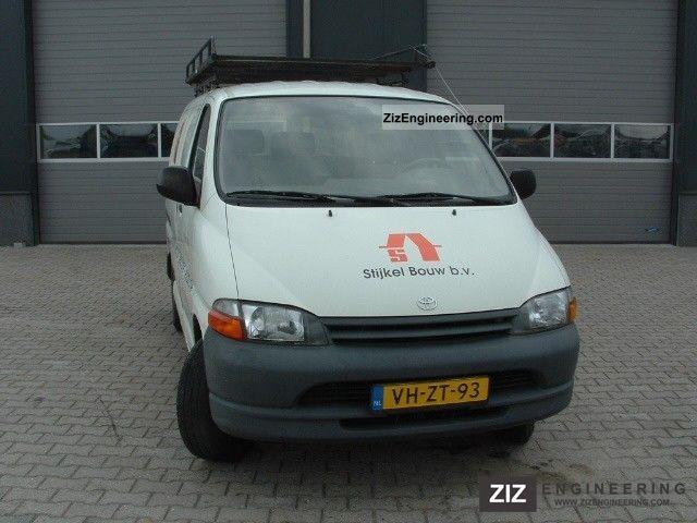 1996 Toyota  HiAce 2.4d KORT Van or truck up to 7.5t Box-type delivery van photo