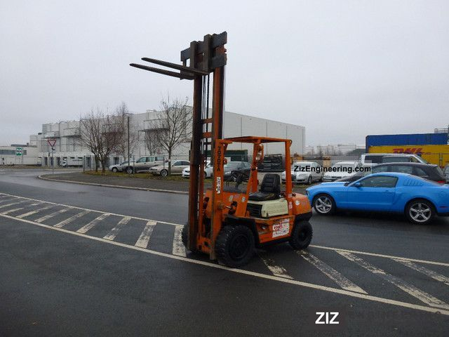 2011 Toyota  3 FD-30 Forklift truck Front-mounted forklift truck photo
