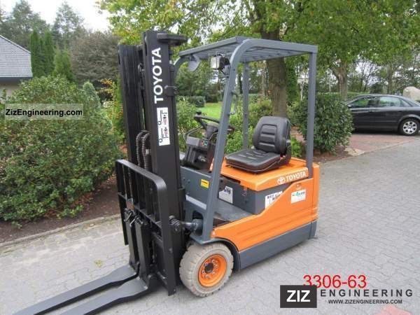 2003 Toyota  5 FBE 13 Forklift truck Front-mounted forklift truck photo