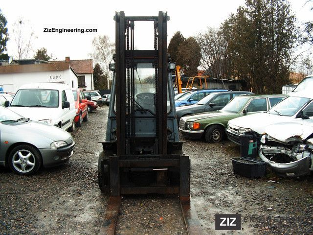 1996 Toyota  02-6FD33 Forklift truck Front-mounted forklift truck photo