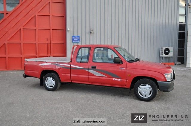 2000 Toyota  HILUX - pick-up Van or truck up to 7.5t Other vans/trucks up to 7,5t photo