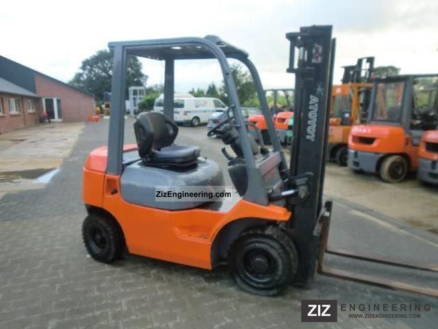 2005 Toyota  62-7FDF20 Forklift truck Front-mounted forklift truck photo