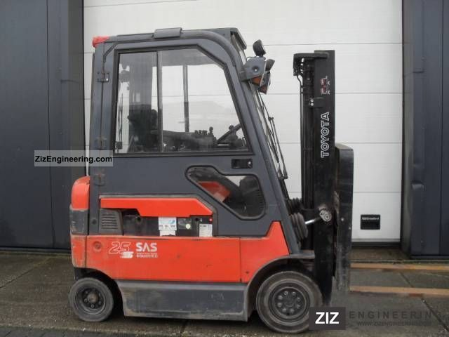 2006 Toyota  7FBMF 25, 2.5 ton Electric, 2006 Forklift truck Front-mounted forklift truck photo