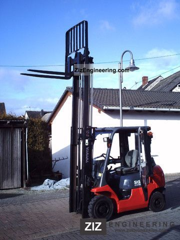 2000 Toyota  7FDF-62-25 / 211 Forklift truck Front-mounted forklift truck photo