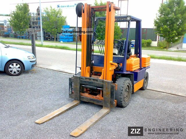1989 Toyota  02-5FD35 4.0 t * * Hydraulic side shift Forklift truck Front-mounted forklift truck photo