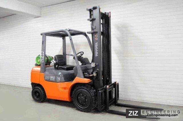 2003 Toyota  7FGF30, SS Forklift truck Front-mounted forklift truck photo