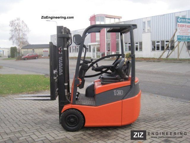 2008 Toyota  7 FBEST 13 / TRIPLO MAST / SIDE SHIFT Forklift truck Front-mounted forklift truck photo