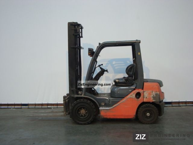 2008 Toyota  52-8FD25 Forklift truck Front-mounted forklift truck photo