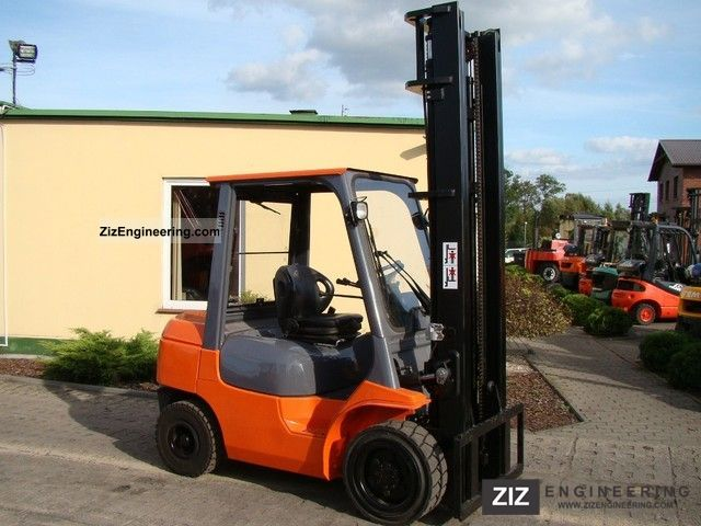2003 Toyota  62-7FDF30 Forklift truck Front-mounted forklift truck photo