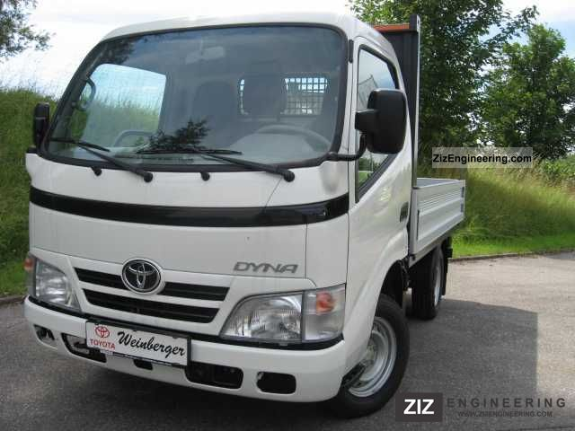 Toyota Dyna 100 Alupritsche 2011 Other Vans  Trucks Up To 7 5t Photo And Specs
