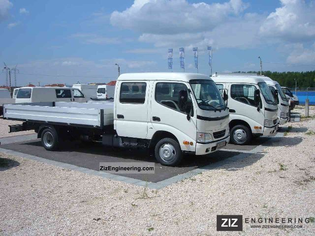 2011 Toyota  Dyna150 136 Ps 3350 mm Double Cab Chassis Van or truck up to 7.5t Chassis photo