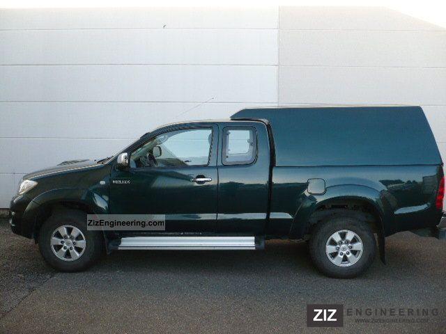 toyota hilux 4x4 extra cab sol 2009 other vans trucks up. Black Bedroom Furniture Sets. Home Design Ideas