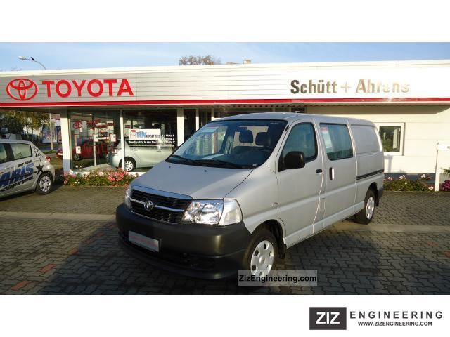 2010 Toyota  6 seater Hiace Long Box Van or truck up to 7.5t Other vans/trucks up to 7,5t photo