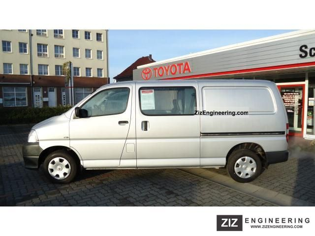 toyota 6 seater hiace long box 2010 other vans trucks up to 7 5t photo and specs. Black Bedroom Furniture Sets. Home Design Ideas