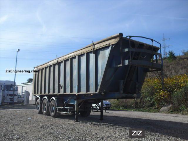 2003 Trailor  Gen.Typ: TF34CZ 40m ³ Semi-trailer Tipper photo