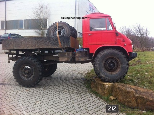 Unimog 404 new technical approval 1962 Stake body Truck Photo and