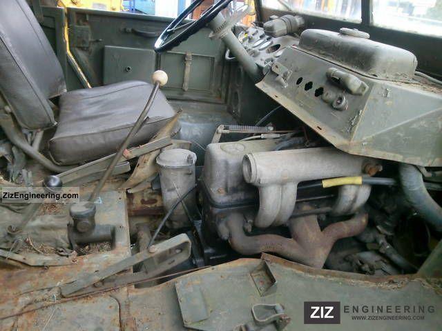 Unimog S4041  1959 Box Truck Photo and Specs