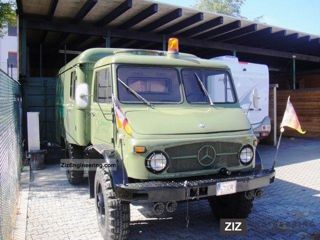 1964 Unimog  S 404 113 Van or truck up to 7.5t Box-type delivery van photo