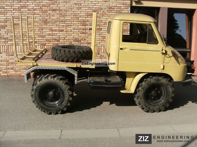 unimog 30 411 1959 chassis truck photo and specs. Black Bedroom Furniture Sets. Home Design Ideas