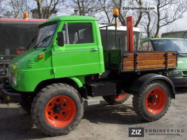 unimog u34 411 with agricultural performance 1963 tipper truck photo and specs. Black Bedroom Furniture Sets. Home Design Ideas