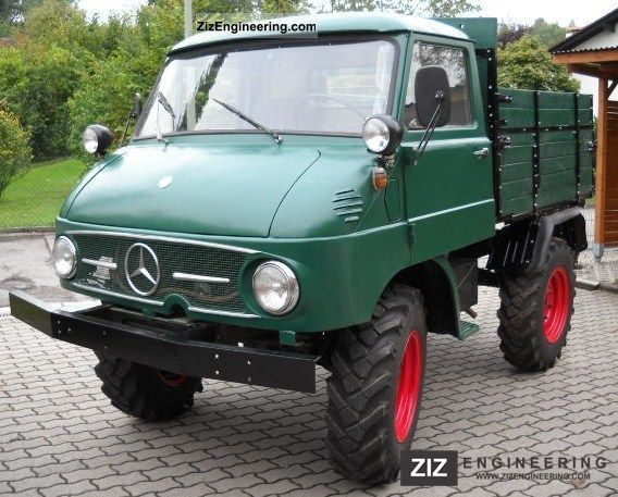 unimog 411 new westfalia t v 1963 stake body truck photo and specs. Black Bedroom Furniture Sets. Home Design Ideas