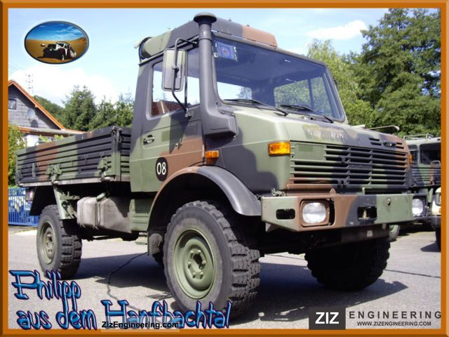 unimog 435 1300l bundeswehr long wheelbase 1985 stake body. Black Bedroom Furniture Sets. Home Design Ideas