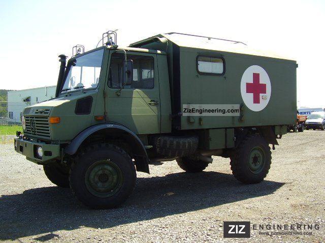unimog u 1300 l suitcase ex ambulances 1986 box truck. Black Bedroom Furniture Sets. Home Design Ideas