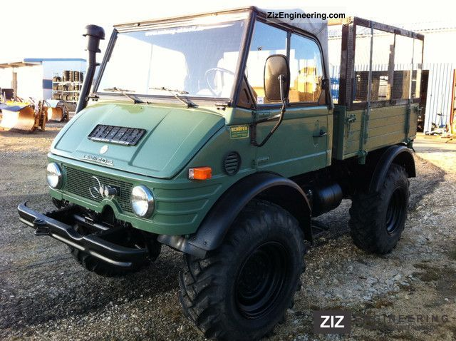 unimog 421 agricultural convertible u 600 top 1979 tipper truck photo and specs. Black Bedroom Furniture Sets. Home Design Ideas