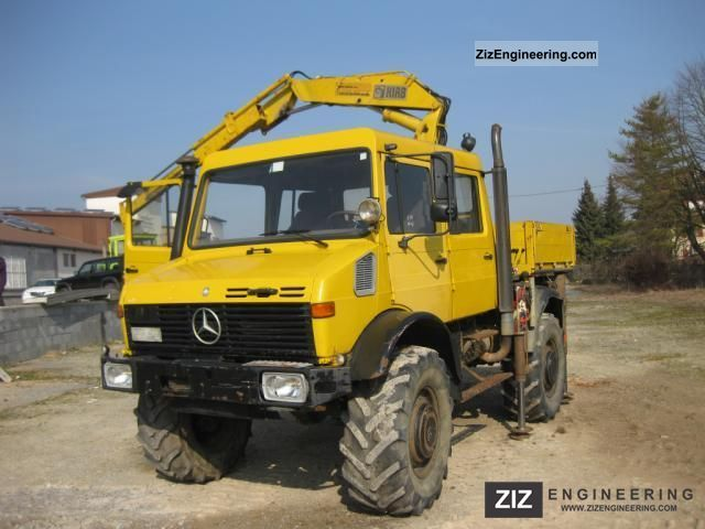 Unimog 1700 1991 Other Trucks Over 7 5t Photo And Specs