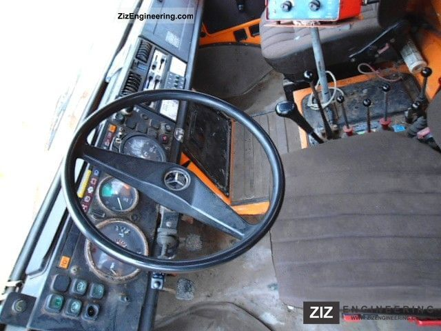 unimog u 1000 427  100 winter service spreader brush slug 1989 sweeping machine truck photo and specs Deutz-Fahr Parts deutz-fahr agrotron service manual