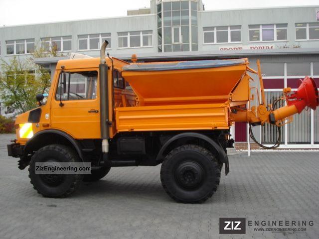 Unimog 1600 U 1650 427 12 Municipal 1996 Tipper Truck