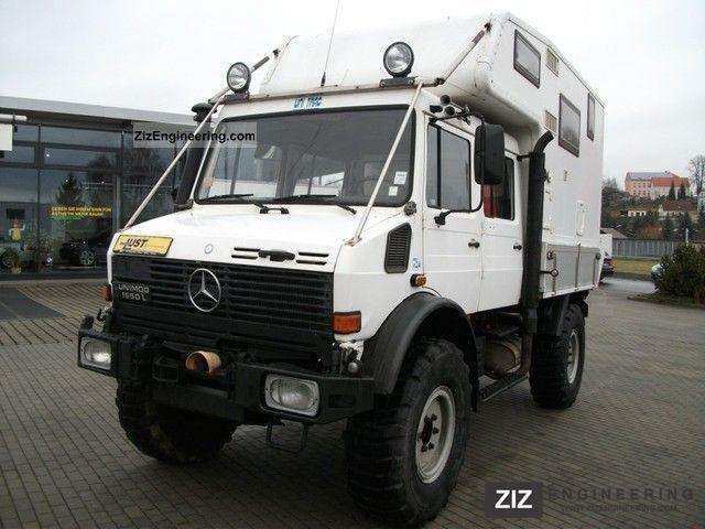 1994 Unimog  Camper-case Truck over 7.5t Other trucks over 7,5t photo