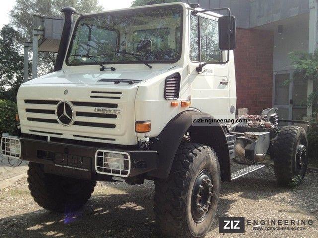 Unimog U 5000 With A 3 85 M Wheelbase 2006 Other Trucks Over 7