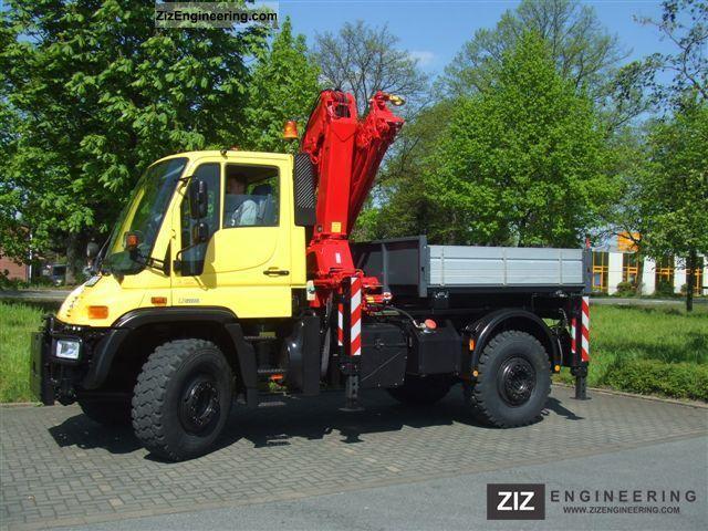2003 Unimog  U500, UGN, U 500 crane Truck over 7.5t Other trucks over 7,5t photo