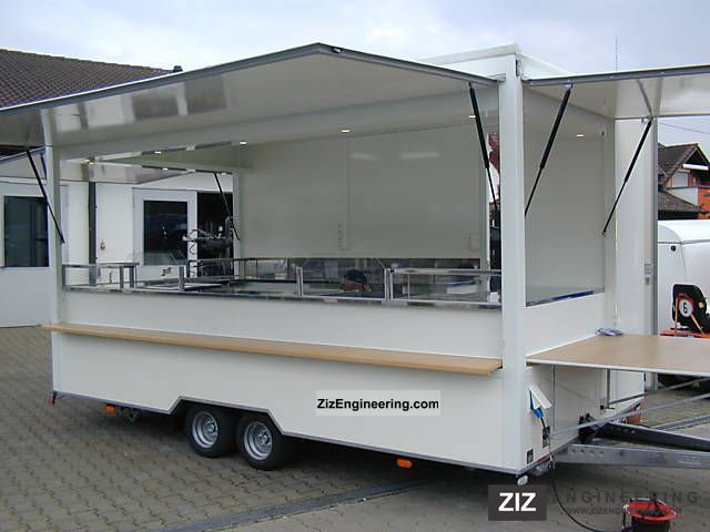 2009 Voss  Snack trailers built to order - Trailers Voss Trailer Tank body photo