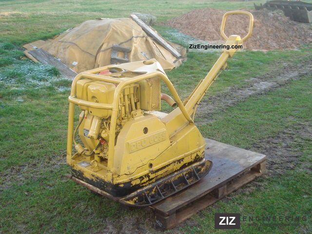 1992 Wacker  6055 Construction machine Compaction technology photo