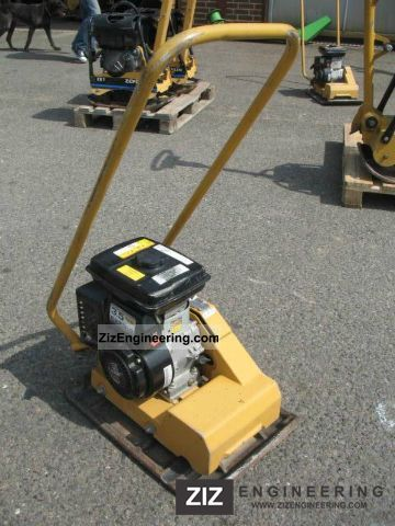 2006 Weber  CF vibration plate 1 with 63 KG Construction machine Compaction technology photo