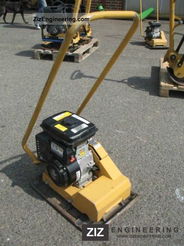2006 Weber  CF 2 vibration plate with 78 KG Construction machine Compaction technology photo
