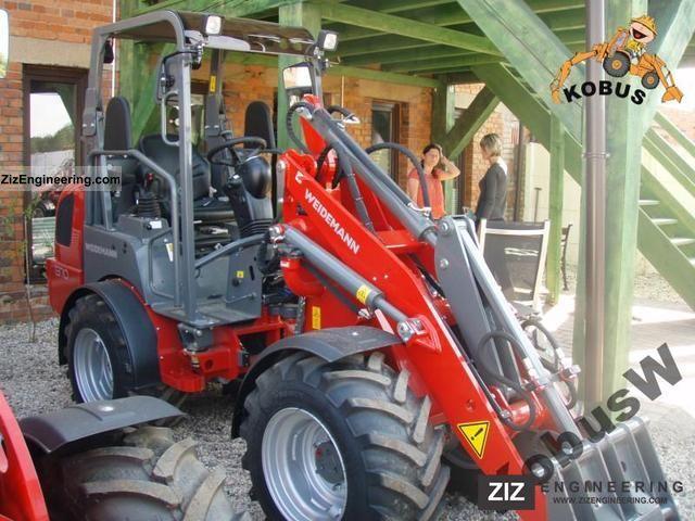 2011 Weidemann  1370 CX50 Agricultural vehicle Front-end loader photo