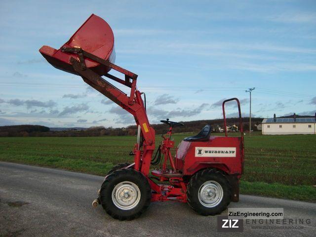 2011 Weidemann  130DF Agricultural vehicle Farmyard tractor photo