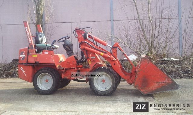 2001 Weidemann  1240 Skid Year: 2001, joystick, wheel Agricultural vehicle Front-end loader photo