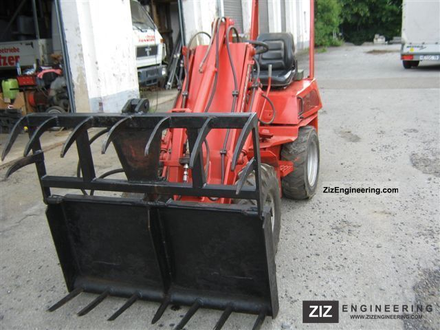 1991 Weidemann  914 T Agricultural vehicle Front-end loader photo