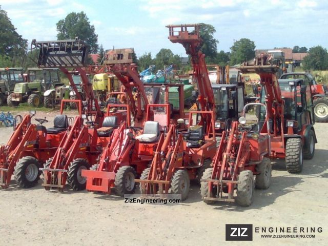 2001 Weidemann  schaffer 3033 Agricultural vehicle Front-end loader photo